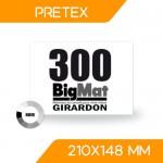 DOSSARD PRÉTEX NOIR 210x148 mm