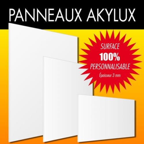 PANNEAU PERSONNALISÉ 400x150 mm