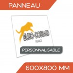 PANNEAU PERSONNALISÉ 600x800 mm